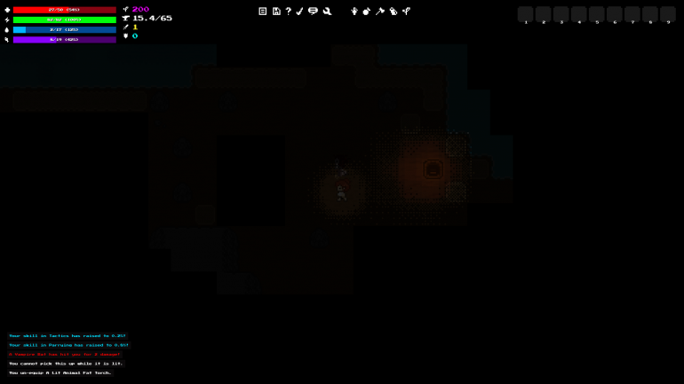 Dithering Preview #4 - Cave