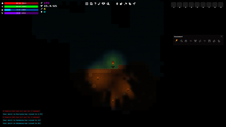Dithering Preview #5 - Cave Lighting