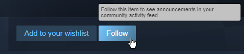 Steam Follow
