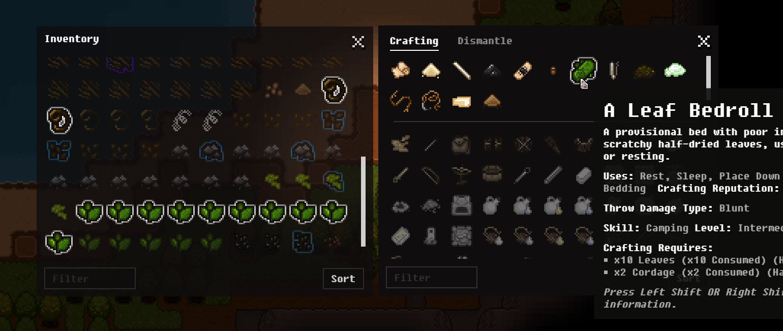 Improved Crafting Highlighting