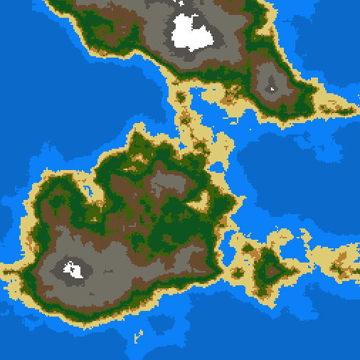 Screenshot Saturday: Terrain Generation