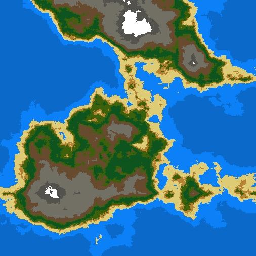 Screenshot Saturday: Terrain Generation