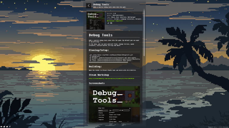 Debug Tools Readme