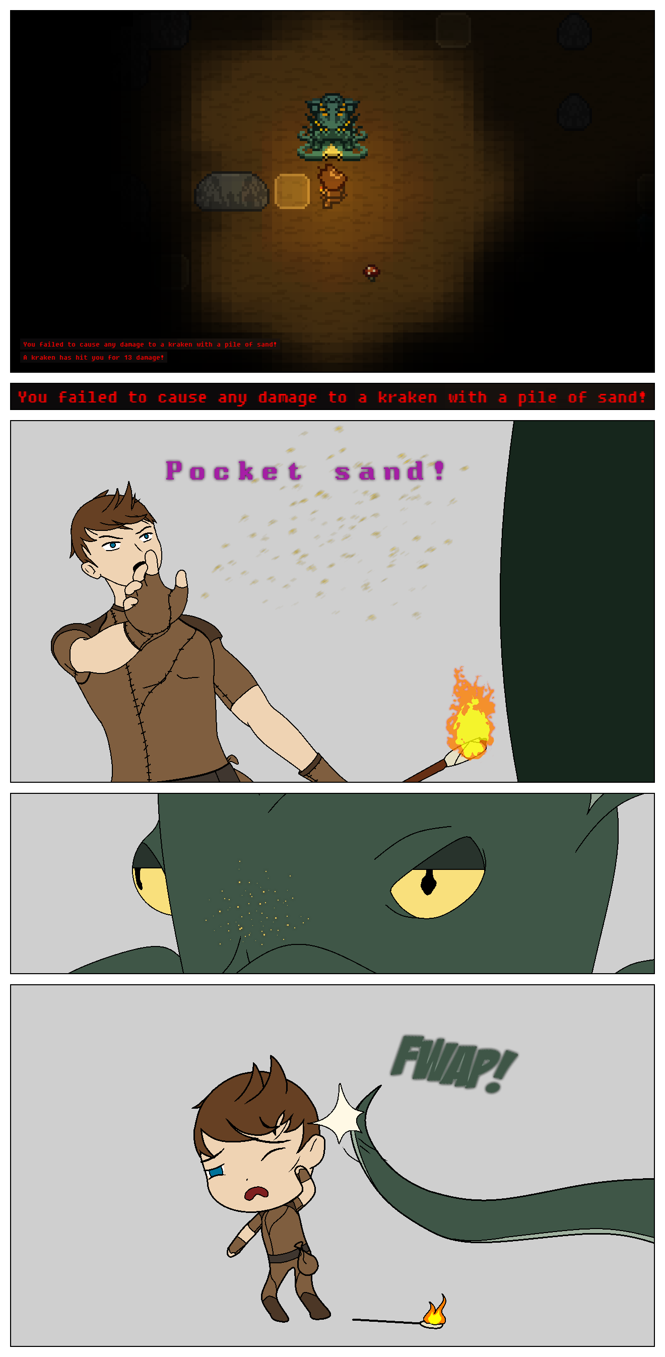 Vossk's Wayward Comic