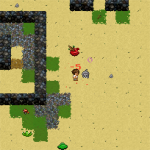 Wayward Alpha 1.2 - Desert fight
