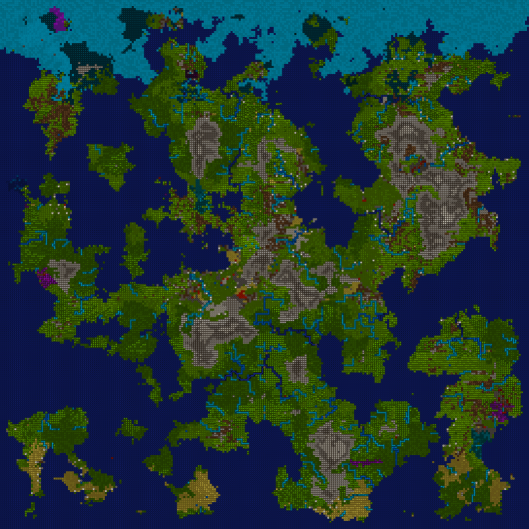 Dwarf Fortress Map